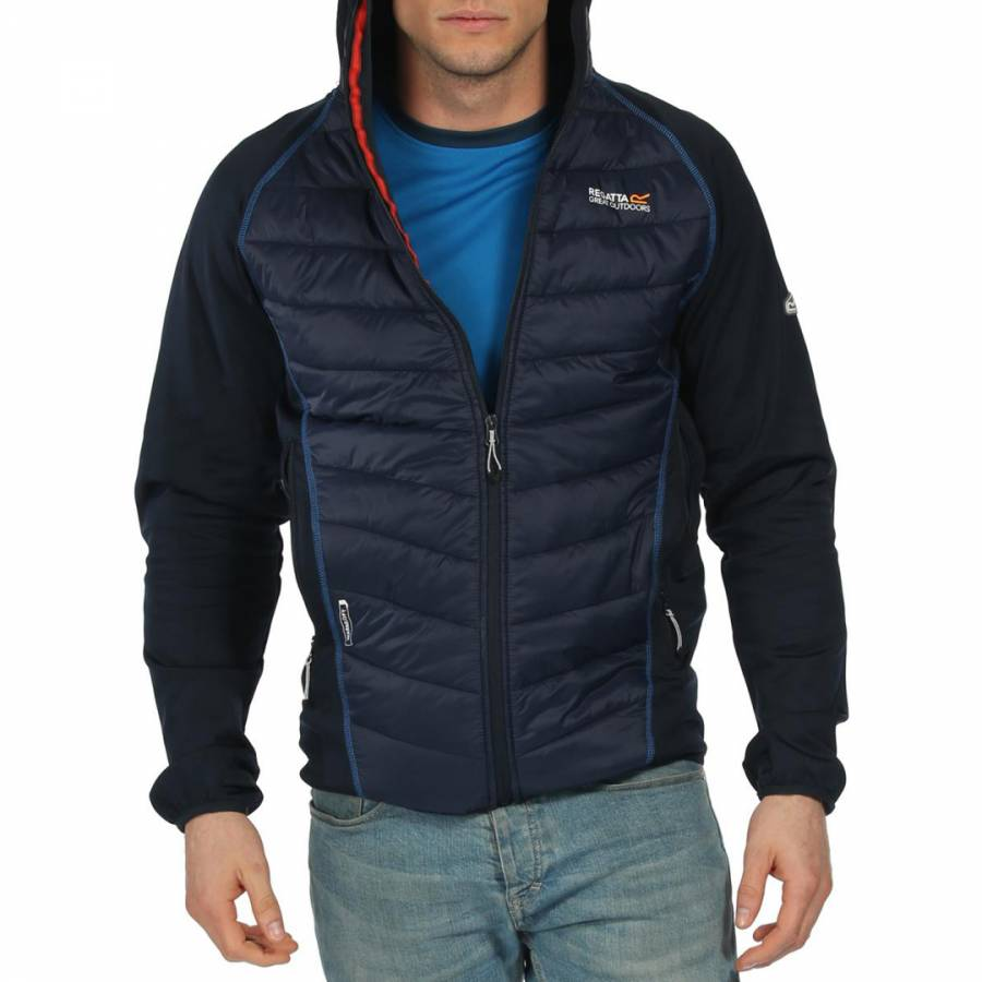 0cc0e598c4 Men's Navy Andreson II Hybrid Jacket - BrandAlley