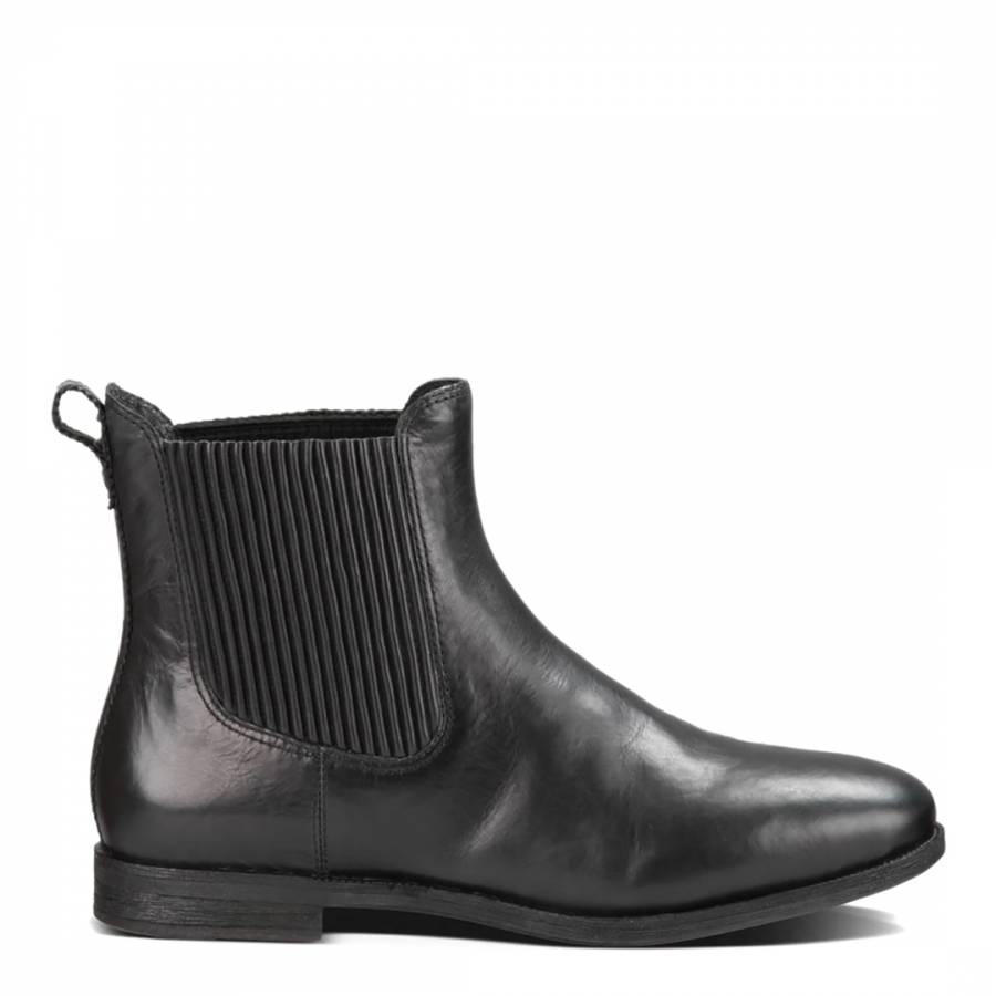 5642afe0995 UGG Black Leather Joey Chelsea Boots