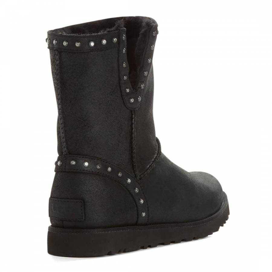 0ebb65475a1 Black Suede Classic Cyd Ankle Boots
