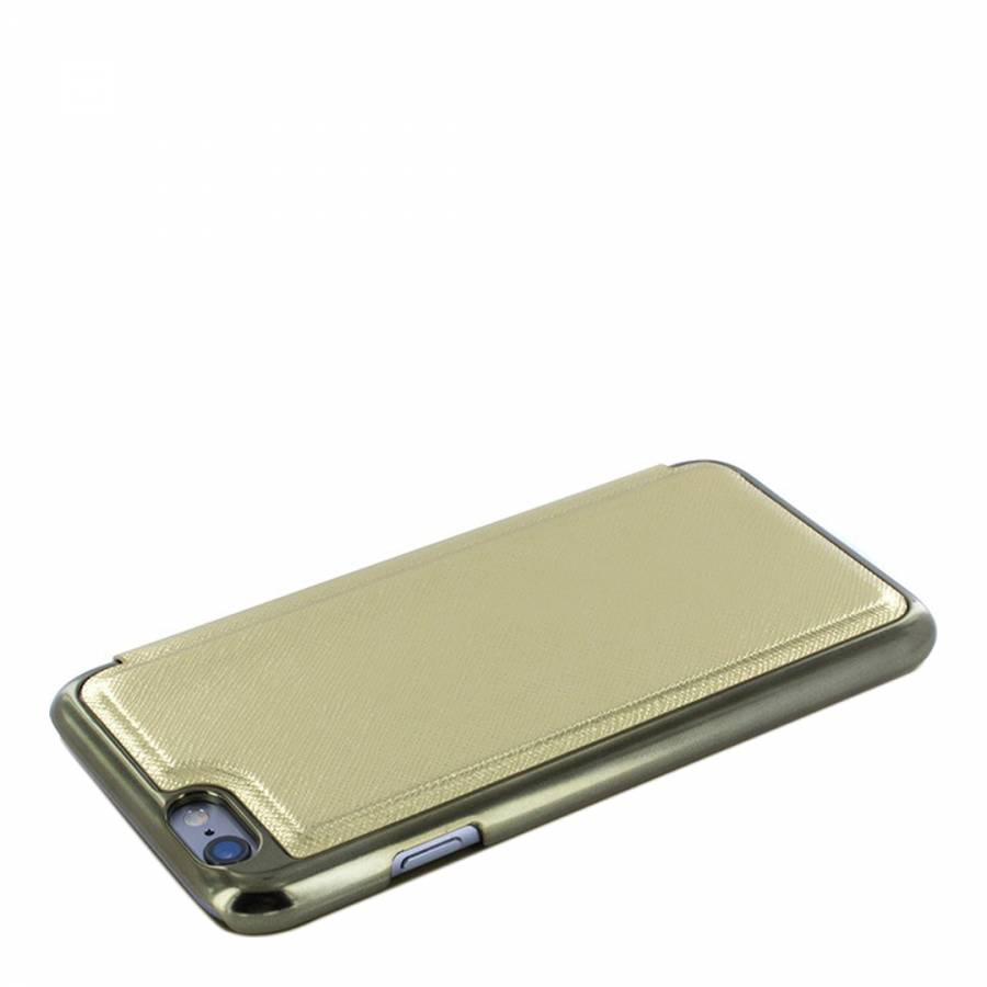 7ad58a998bd Gold Shannon Folio iPhone 6/6S Case - BrandAlley