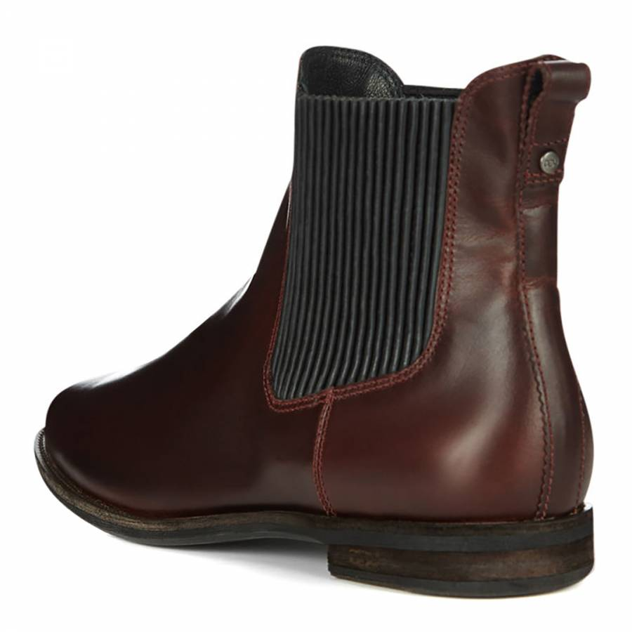 f5ab6d192fb UGG Cordovan Leather Joey Chelsea Boots