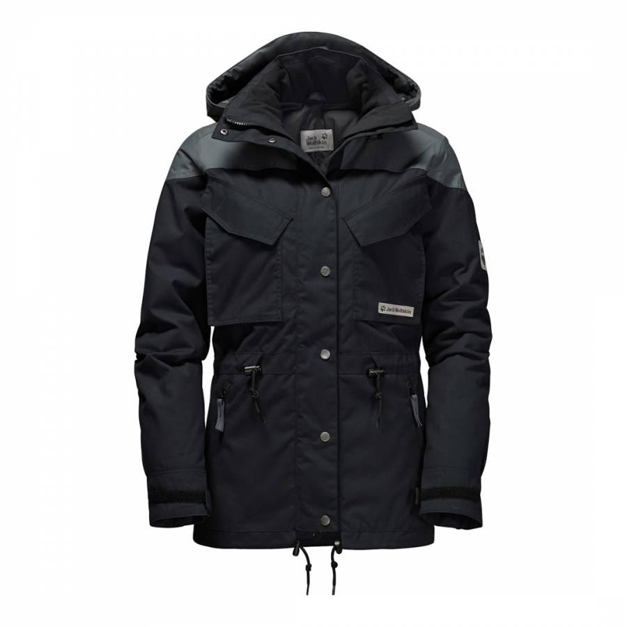 2f4392c6c4d22 Jack Wolfskin Women s Black Geronimo Winter Jacket