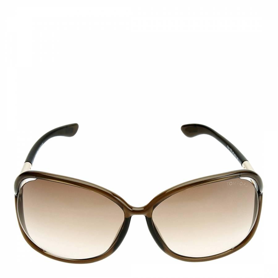 0ec4e73e0b Tom Ford. Women s Brown Raquel Sunglasses 63mm