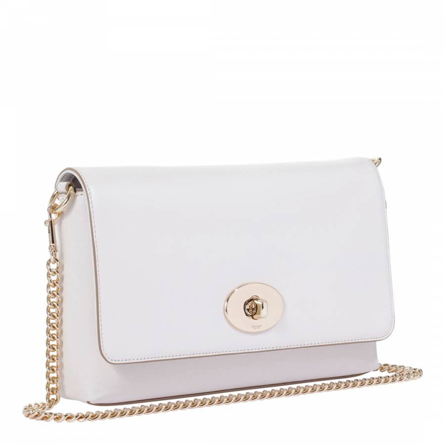 1a36caacc9 White Leather Smith Crossbody Bag - BrandAlley