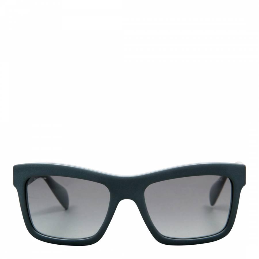 212c4002d9 Prada Women s Matte Grey Matte Opal Grey   Grey Gradient Sunglasses