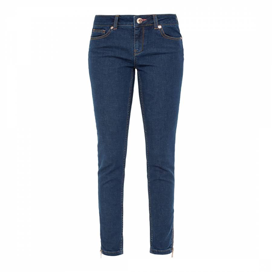 9340f258c Blue Arky Mid Wash Super Skinny Jeans - BrandAlley