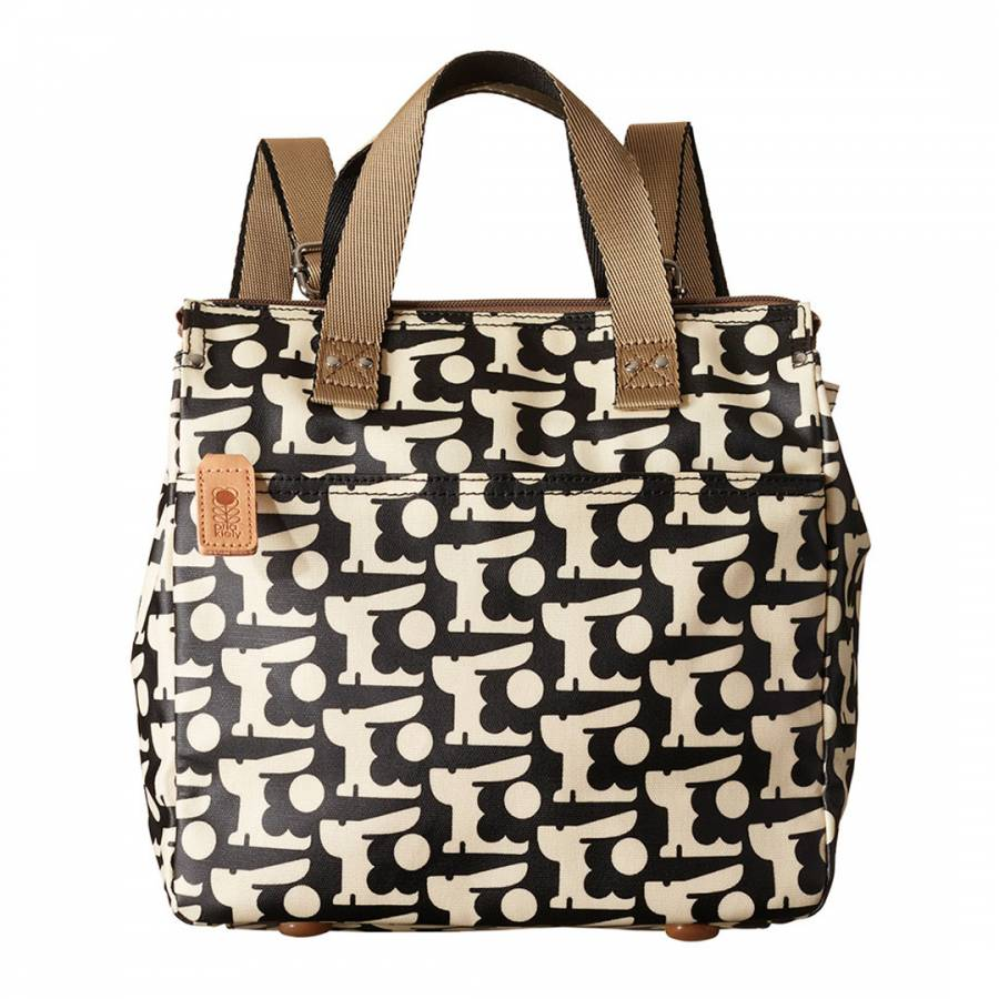 Black Baby Bunny Print Small Backpack - BrandAlley eeae445cad614