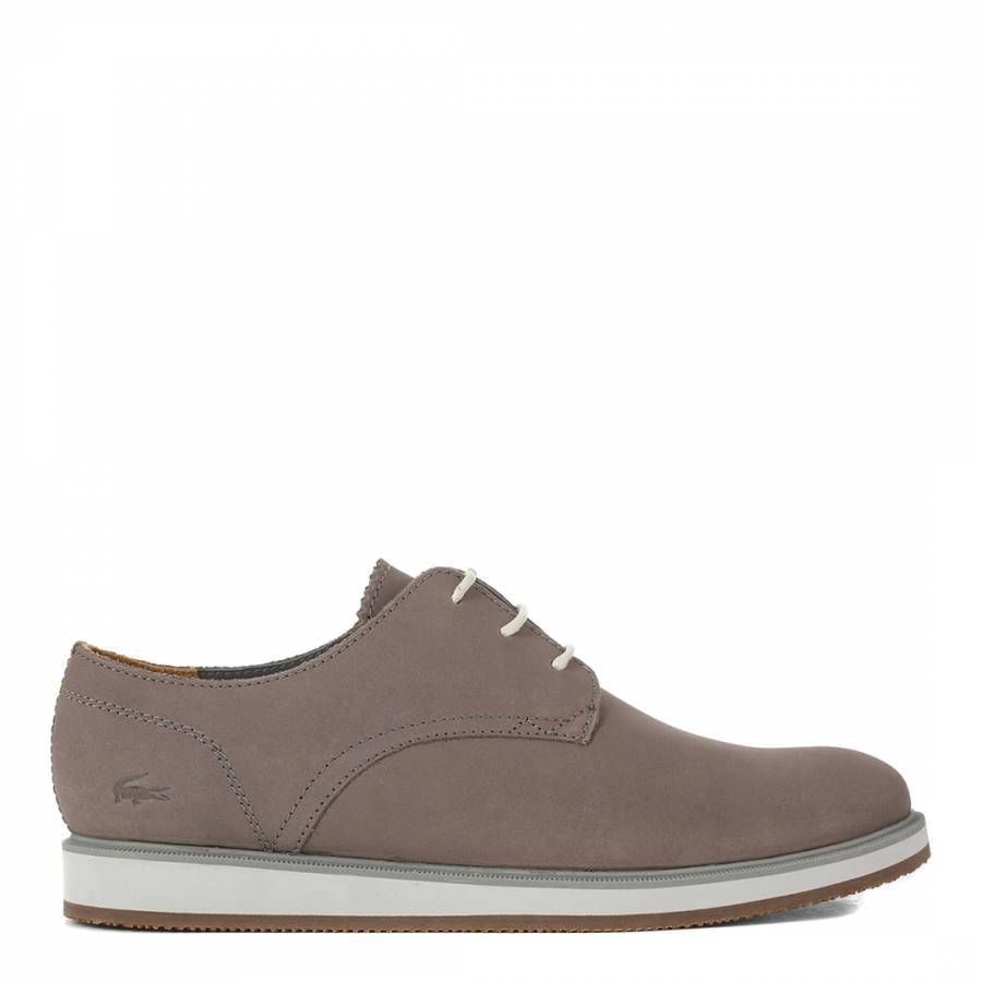 751d1e1ef Men s Grey Leather Millard Lace Low Rise Shoes - BrandAlley