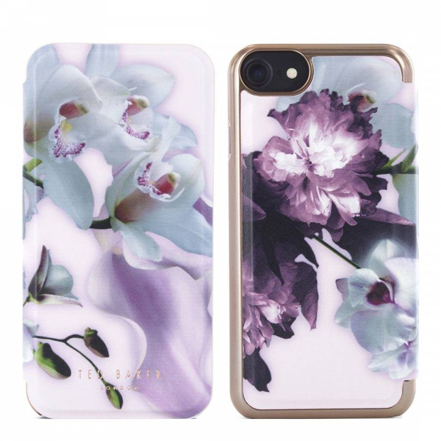 93ea2198be42 Nude Mariel Ethereal Posie Mirror Folio iPhone 7 Case - BrandAlley