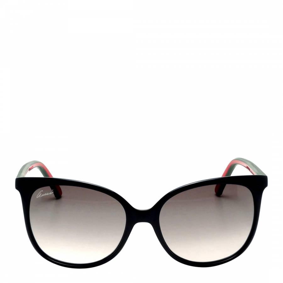 549806975f Gucci Women s Black Grey Shaded Sunglasses 56mm. prev. next. Zoom