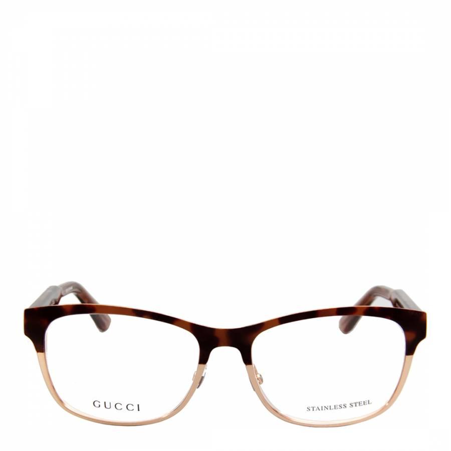 Women\'s Light Brown/Gold Optical Frames 53mm - BrandAlley
