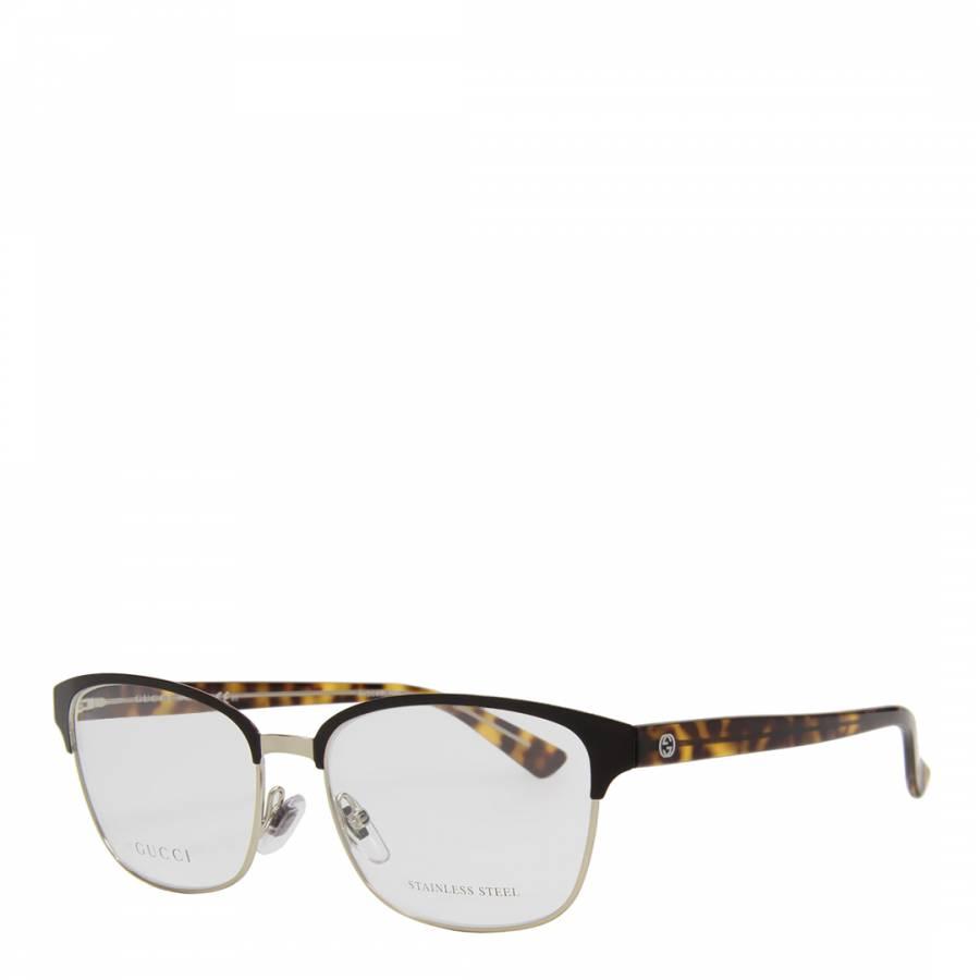 e76663888348 Women s Brown Black Gold Optical Frames 54mm - BrandAlley