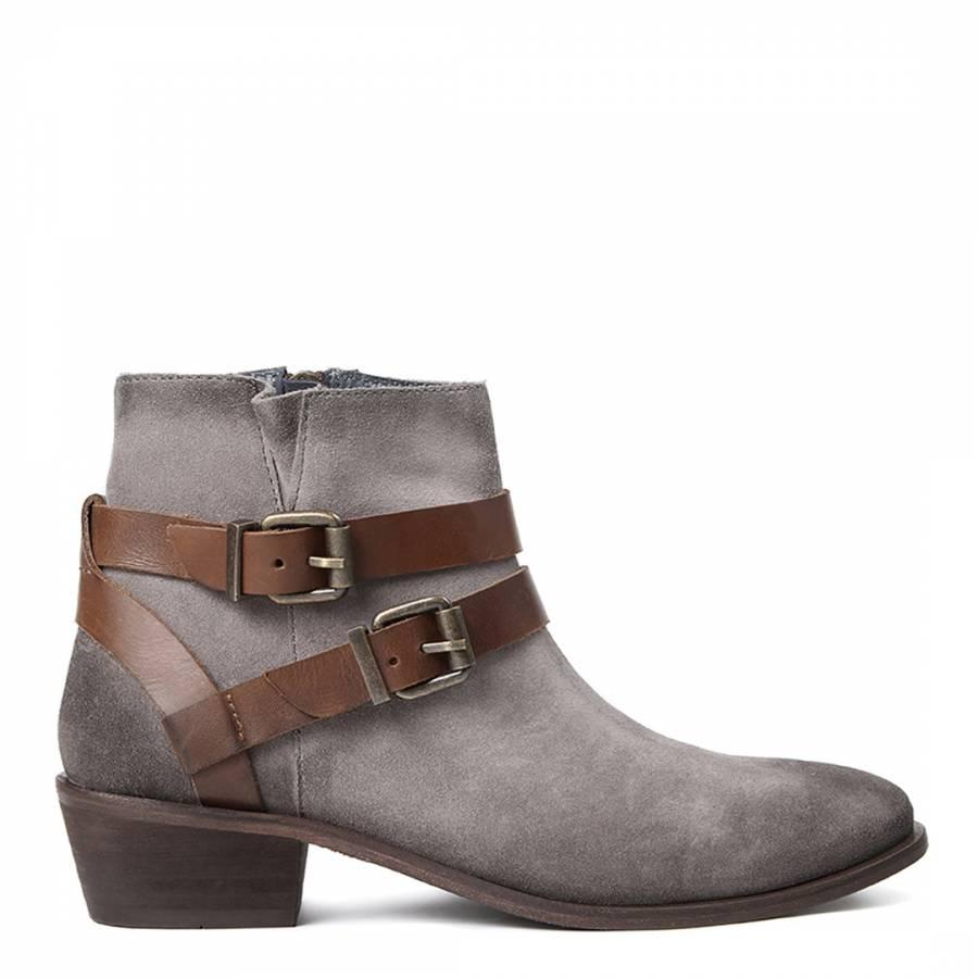 grey suede meeya ankle boots brandalley