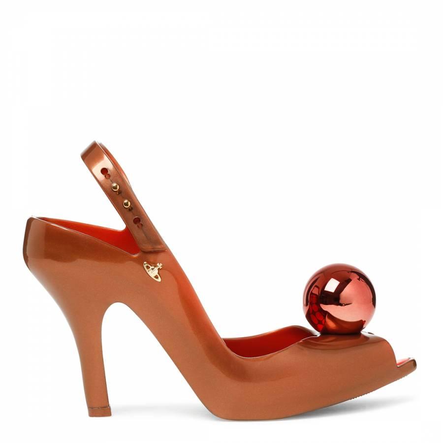 Vivienne Westwood for Melissa Bronze Lady Dragon Globe Heels 6ee927f10186