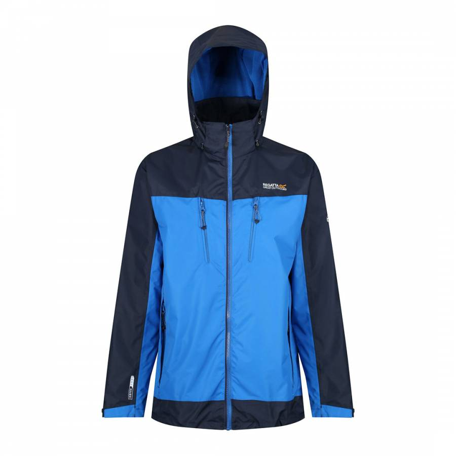 Regatta Avant Rain Jacket Waterproof Lightweight Shell Mens Womens Navy Blue