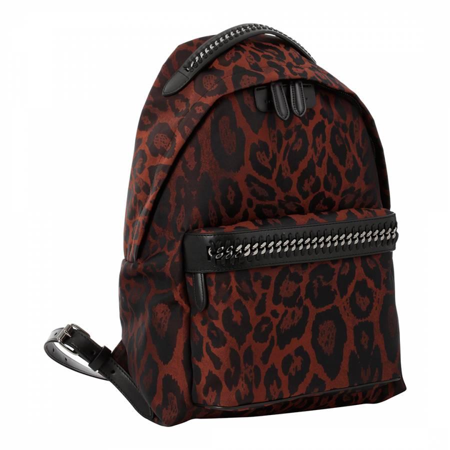4723be6e405f Stella McCartney Leopard Small Falabella Backpack