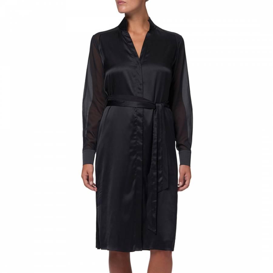 167bd14e Black Marylebone Shirt Dress - BrandAlley