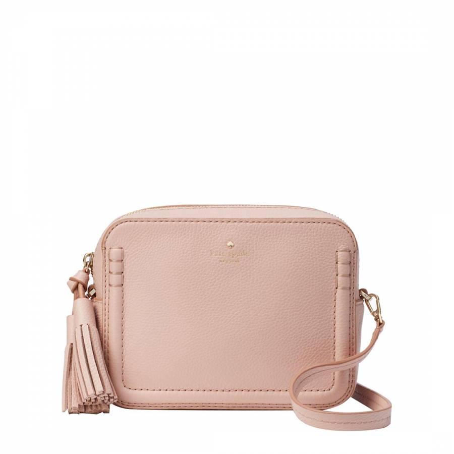6ff917b5a Pale Pink Leather Orchard Street Arla Crossbody Bag - BrandAlley