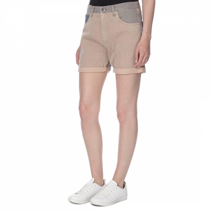 e889f552b60e McQ by Alexander McQueen Women s Sun Bleached Pink Denim Shorts