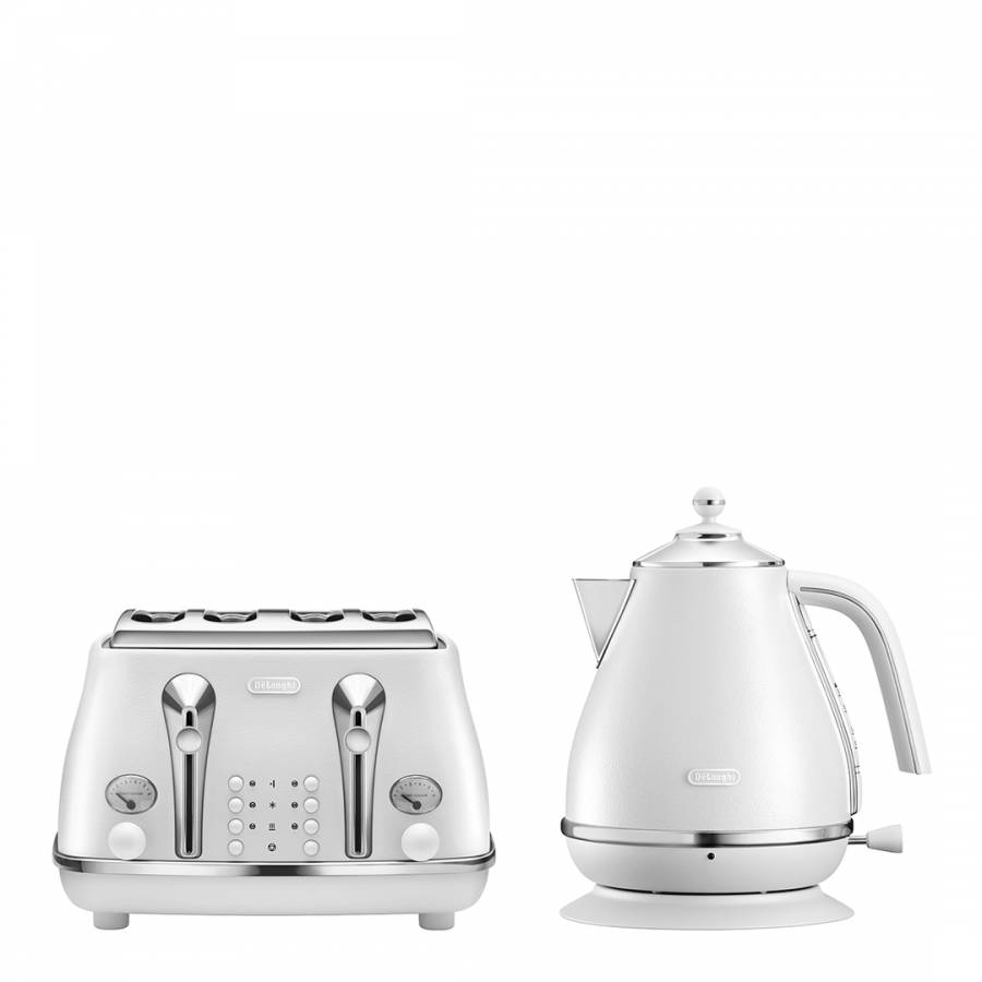 Delonghi Icona Kettle and Toaster Set