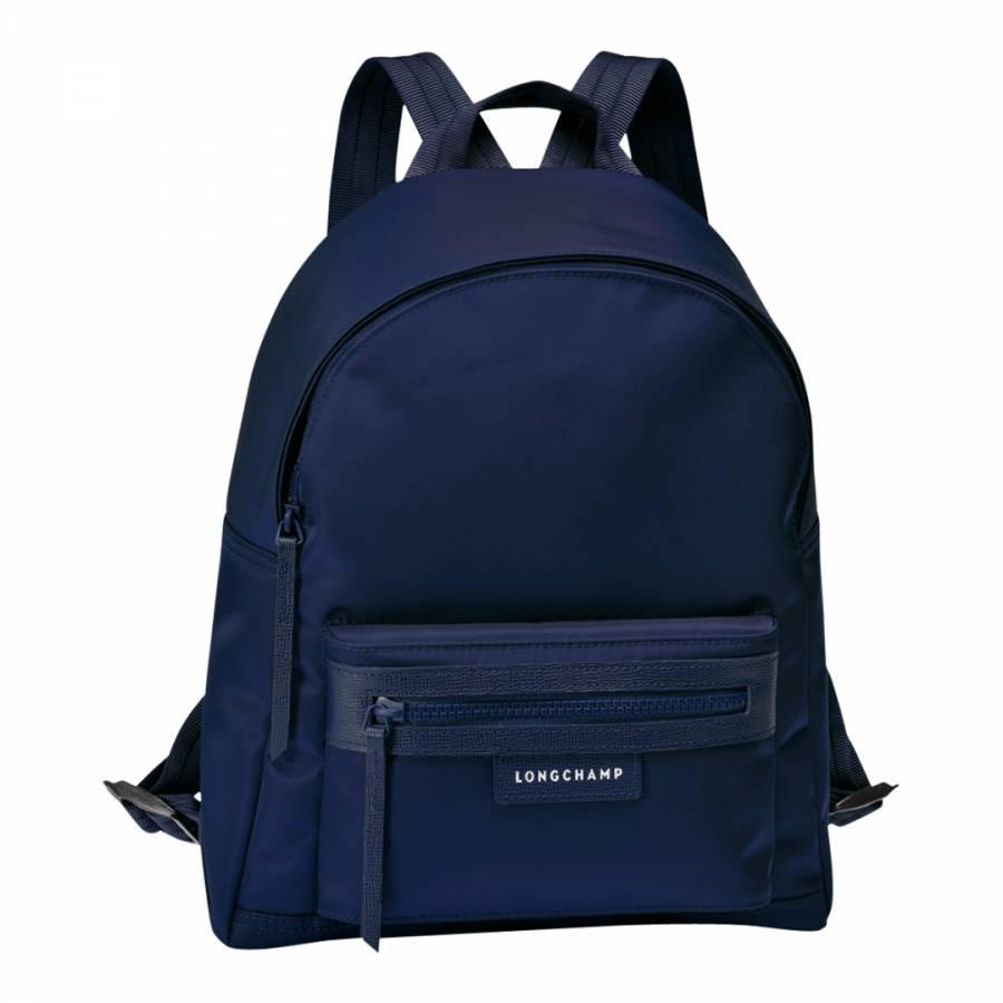 05f24ce6769e Zoom · Longchamp Navy Le Pliage Neo Backpack