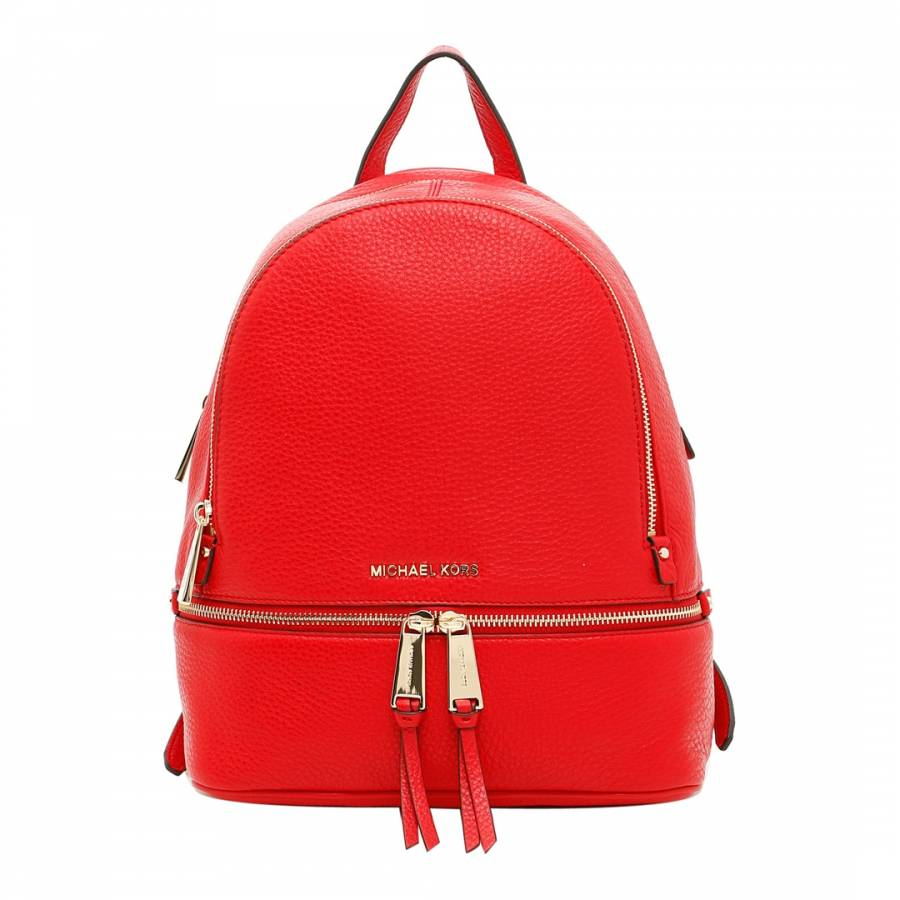 445ea6192b04 Rhea Medium Leather Backpack Red – Patmo Technologies Limited