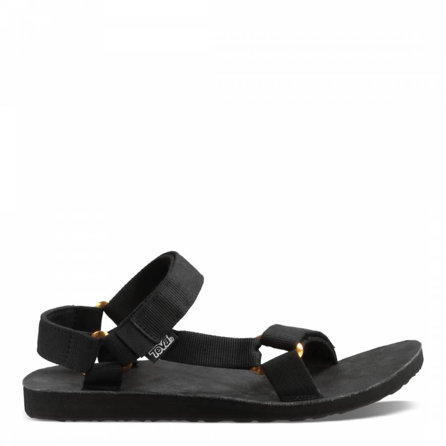 e8f2f9cccde5 Mens Black Original Universal Lux Sandals - BrandAlley