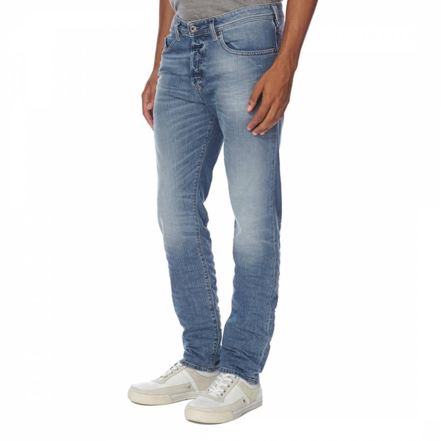 blue buster denim tapered jeans brandalley. Black Bedroom Furniture Sets. Home Design Ideas