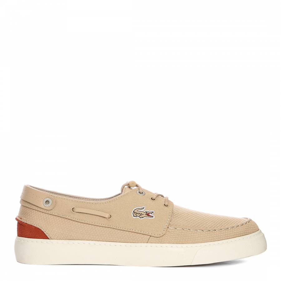 291cff09bd34 Men s Beige Canvas Sumac Boat Shoes - BrandAlley