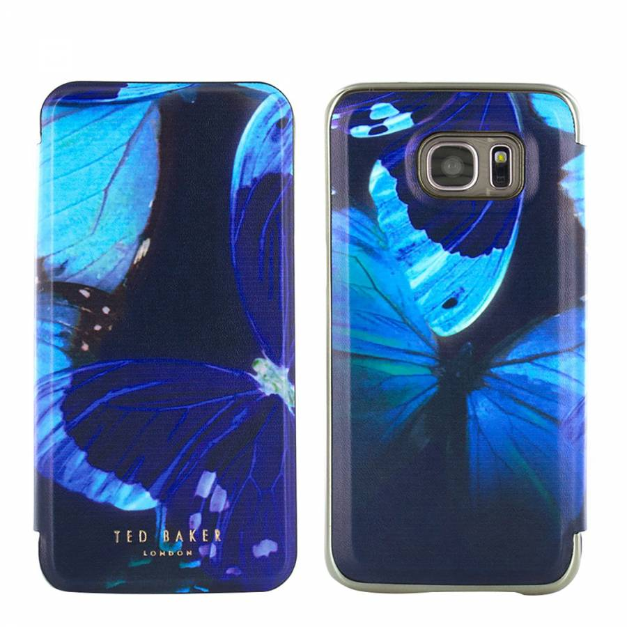 separation shoes f5249 fb1a9 Ted Baker Mirror Folio For Samsung Galaxy S7 Edgecase - BrandAlley