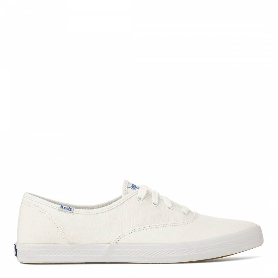 03a4097def4 Women s White Canvas Champion Low Top Sneakers