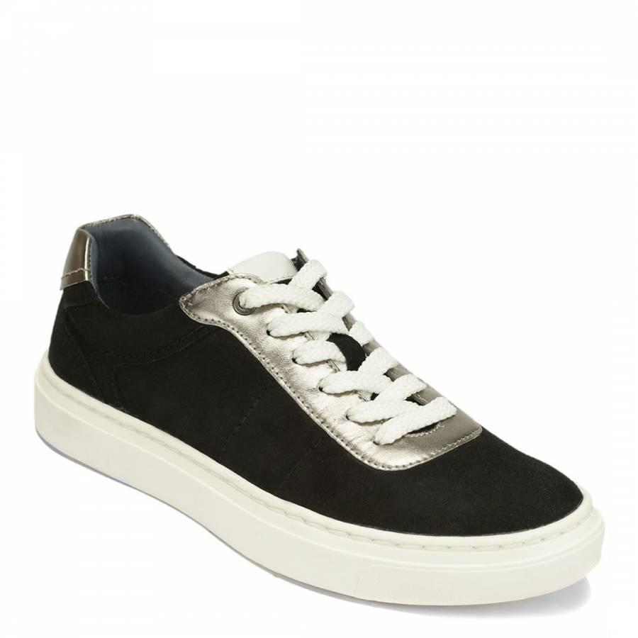2537948ef Chloe St Clair Black Suede Eve Sneakers