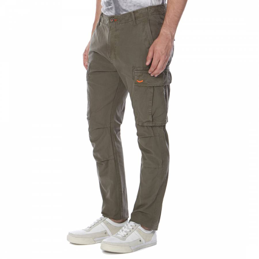 Veteran Green Rookie Rip Stop Cargo Pants