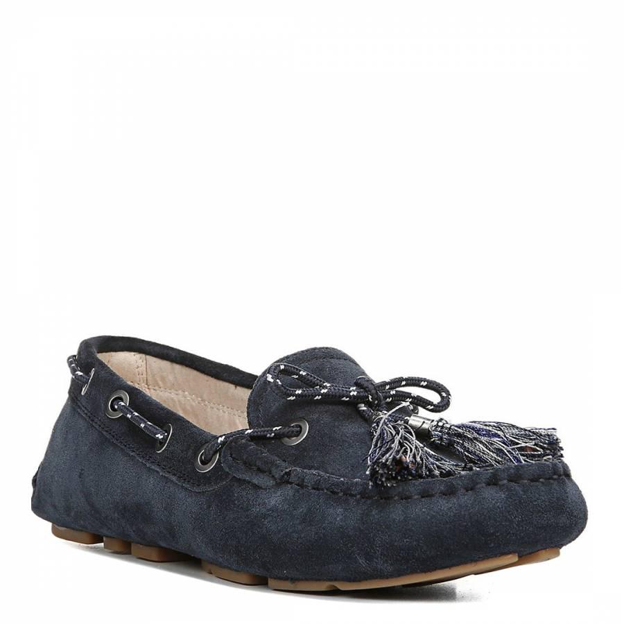 bd66764eb Sea Blue Suede Blend Fantine Boat Shoe - BrandAlley