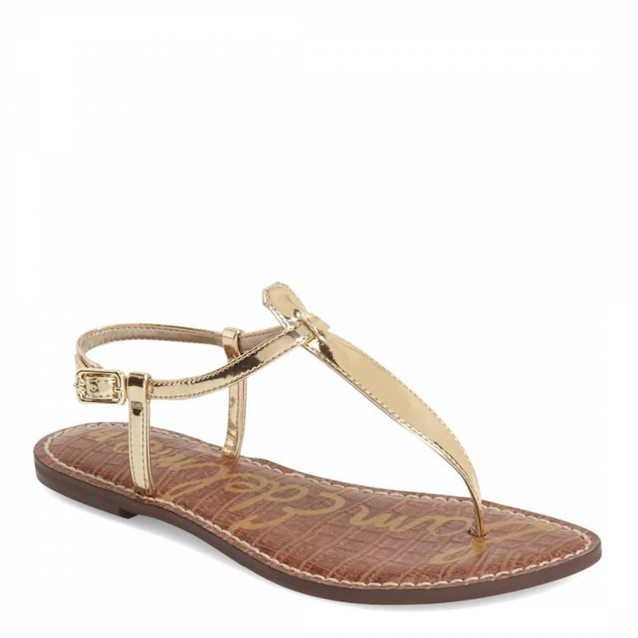 b8f71c37a54c Goldshine Patent Leather Blend Gigi Thong Sandal - BrandAlley