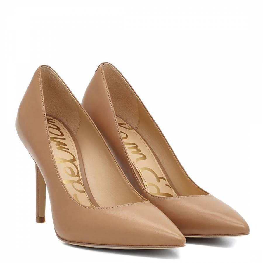 3c44a101c Nude Leather Hazel Court Shoes - BrandAlley