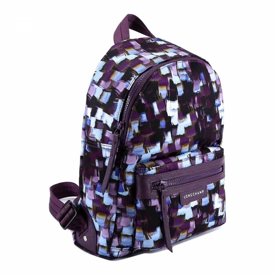 8e11cb82544b Deep Purple Le Pliage Neo Backpack - BrandAlley