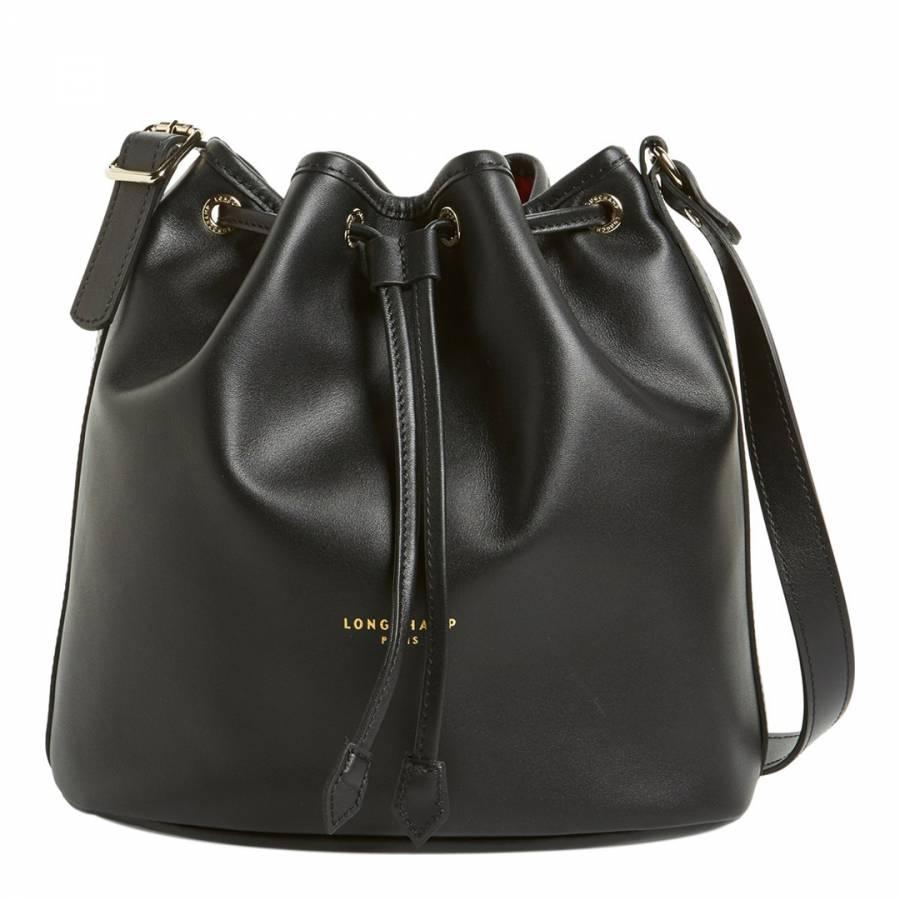 bdc0197b8d84 Black Longchamp 2.0 Bucket Bag - BrandAlley