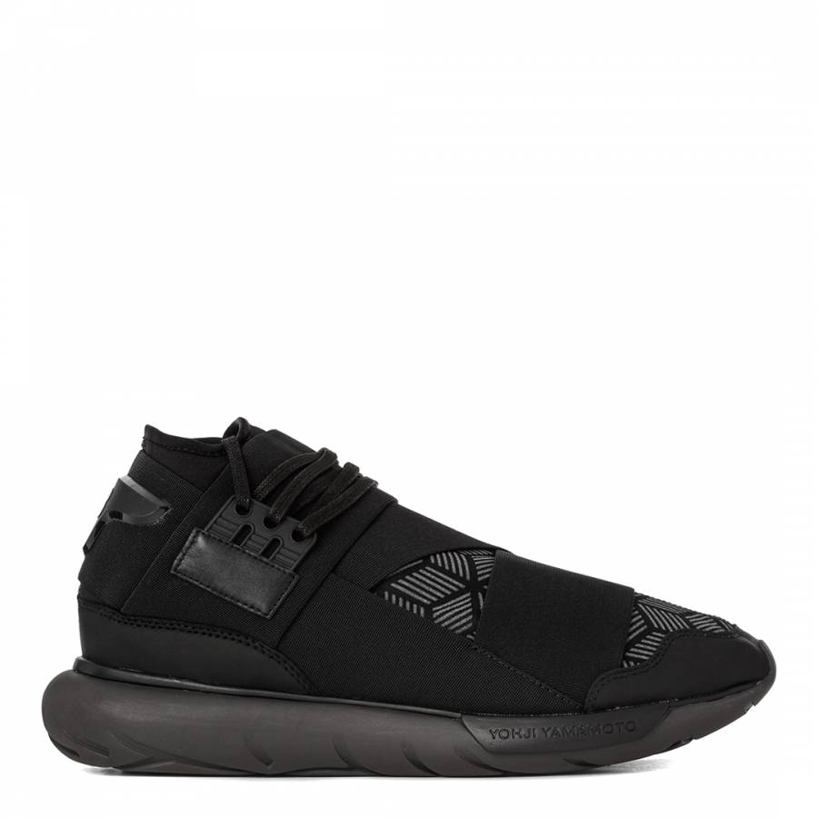 a45288ec4671c Men s Black Qasa High Reflective Trainers - BrandAlley