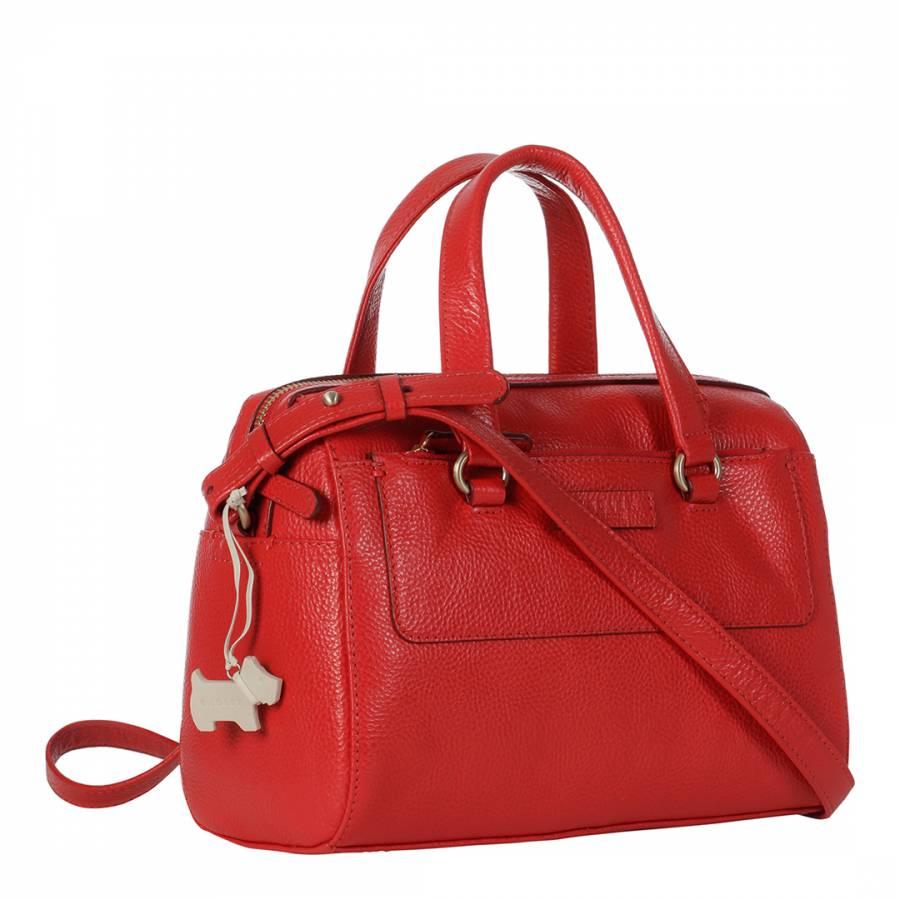 Red Odessa Medium Barrel Multiway Bag - BrandAlley 42b10df203
