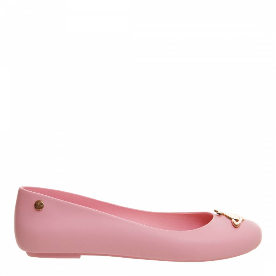 a84d58f8a93 Baby Pink Space Love Pumps - BrandAlley
