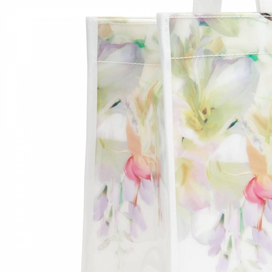 3f22505a23fe0d White Ferrian Hanging Garden   Flip Flop Icon Bag - BrandAlley