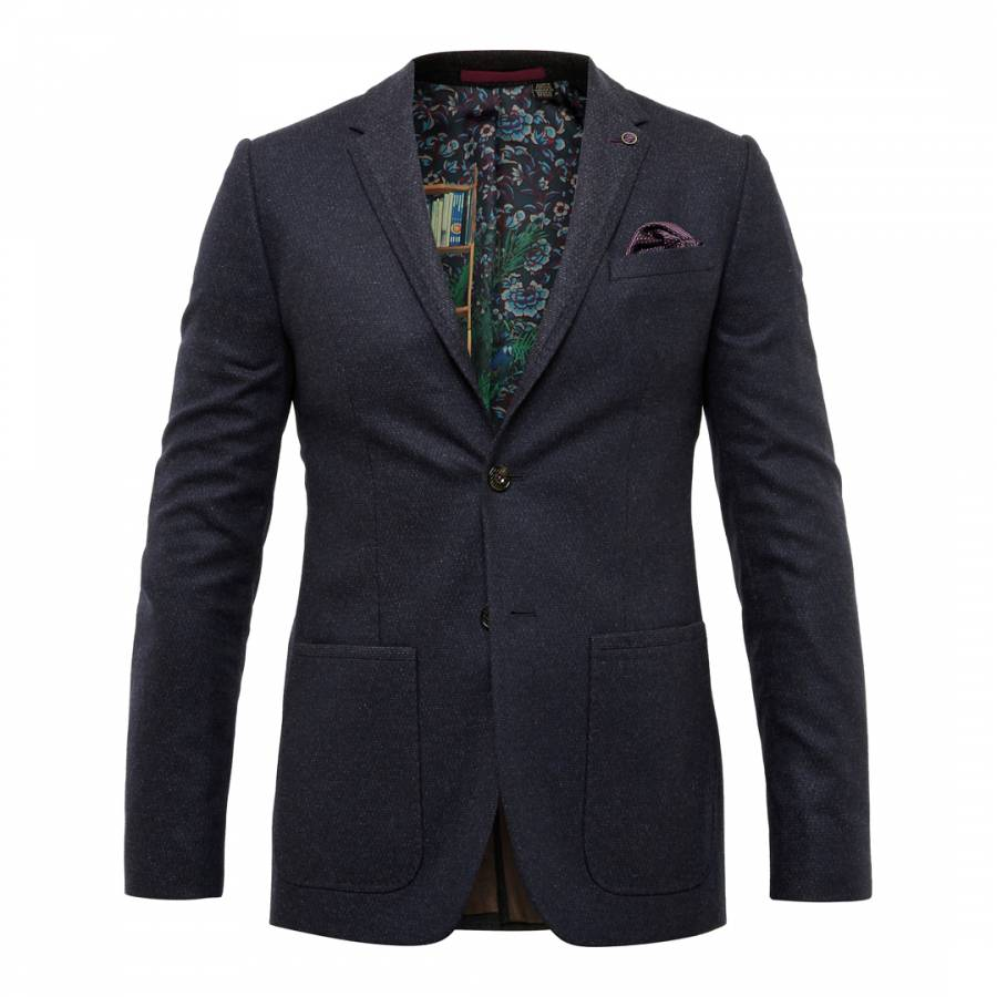 8edb57dde48d Navy Decdent Debonair Plain Suit - BrandAlley