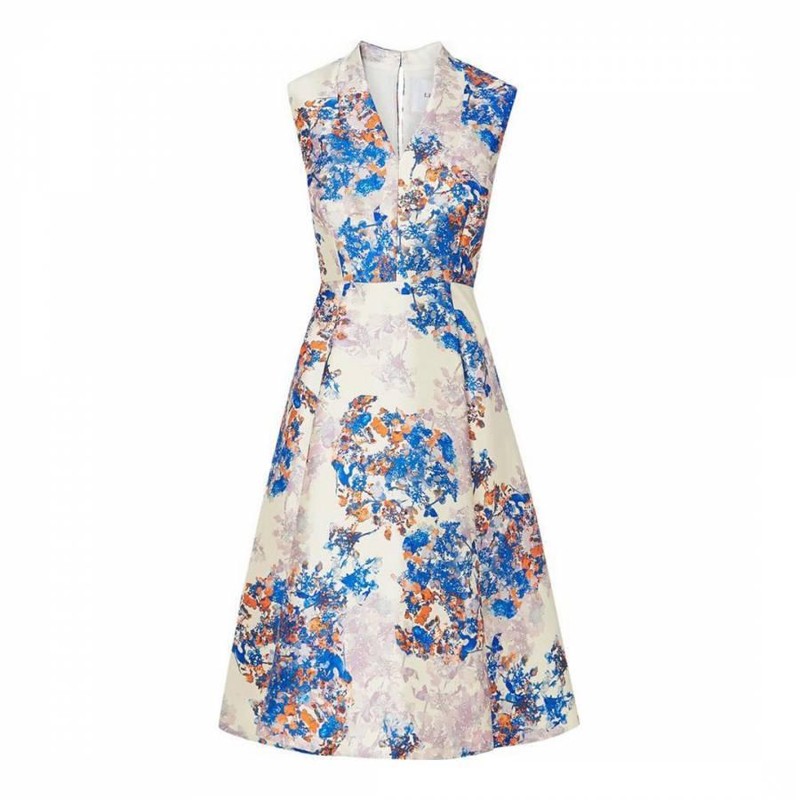 08d46e3fc0 Multi Kenton Emilia Print Dress - BrandAlley