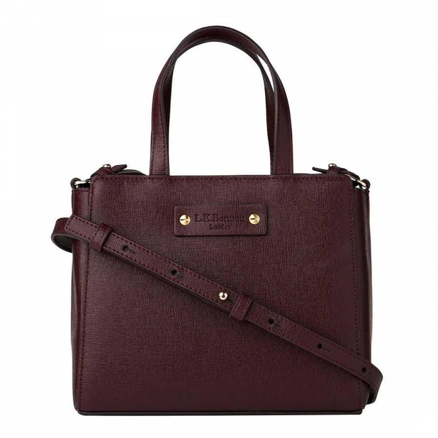 ... closeout l k bennett mulberry leather ota small tote bag 5baf0 1a516 1e2ddefd4f042
