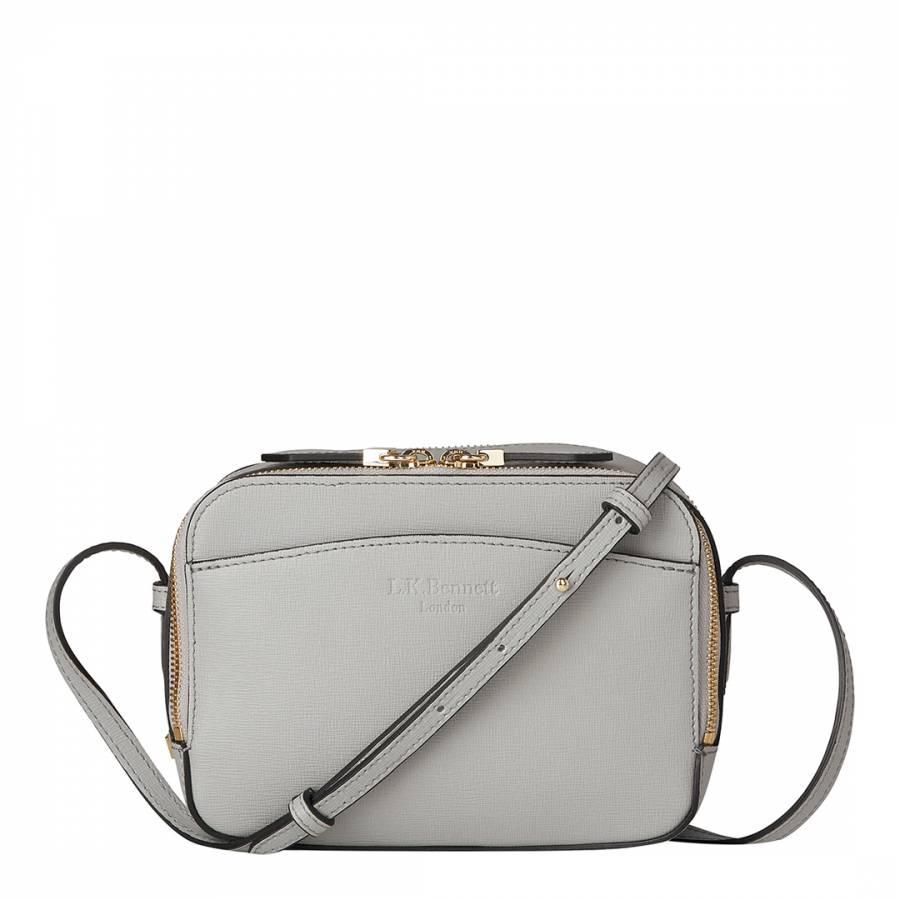 41b6e07dd25e Mist Leather Mariel Crossbody Bag - BrandAlley