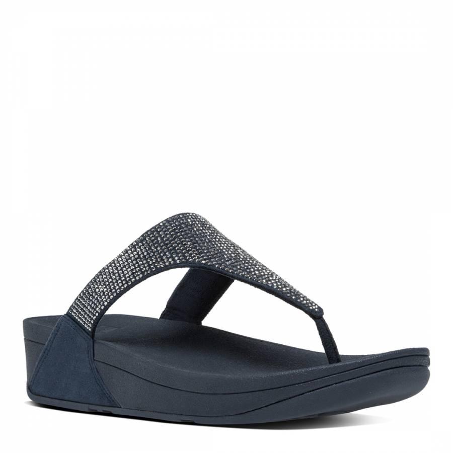 5639a8ac2 Super Navy Slinky Rokkit Toe Post Sandals - BrandAlley