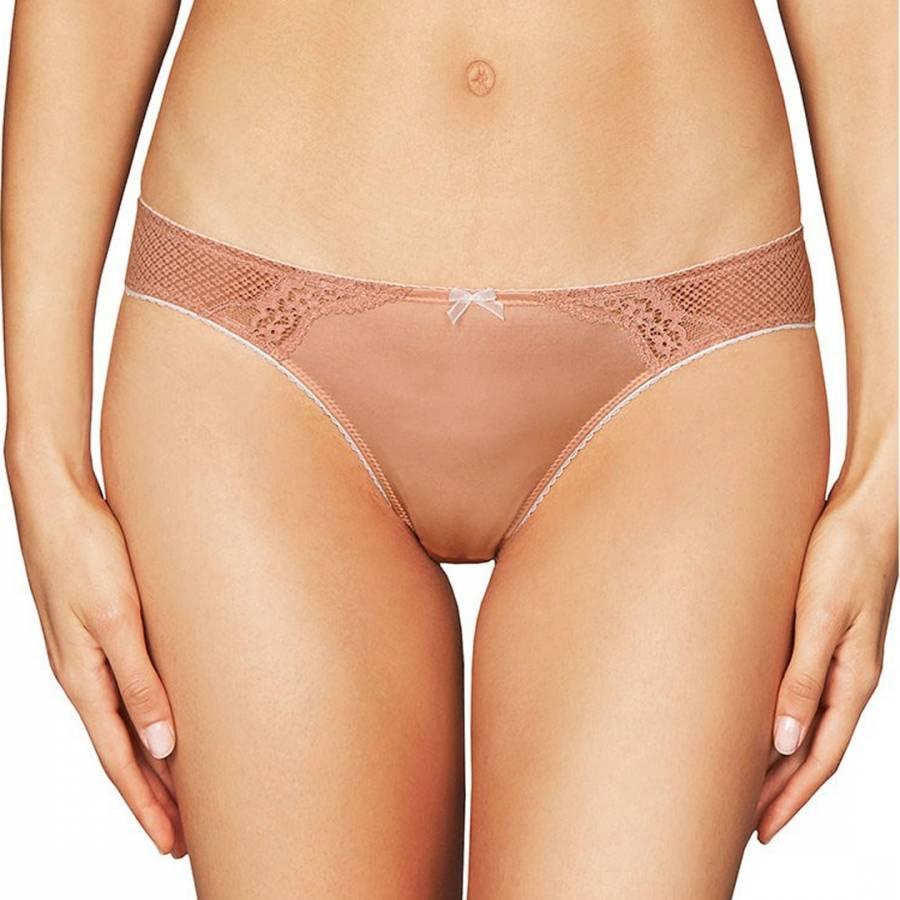 d7996e35a8124 Heidi Klum Intimates Nude Perfectly Nude Thong
