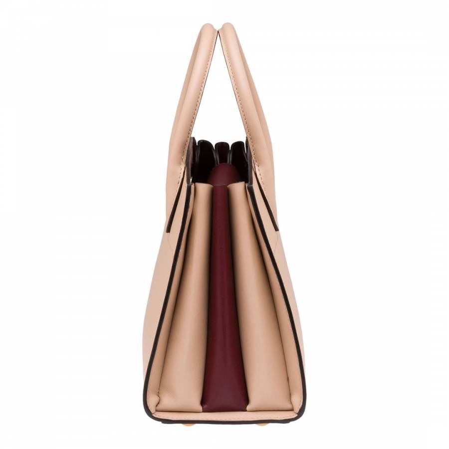 437c55ee3b0b Cameo   Garnet Small Saffiano Leather Bibliotheque Tote Bag - BrandAlley