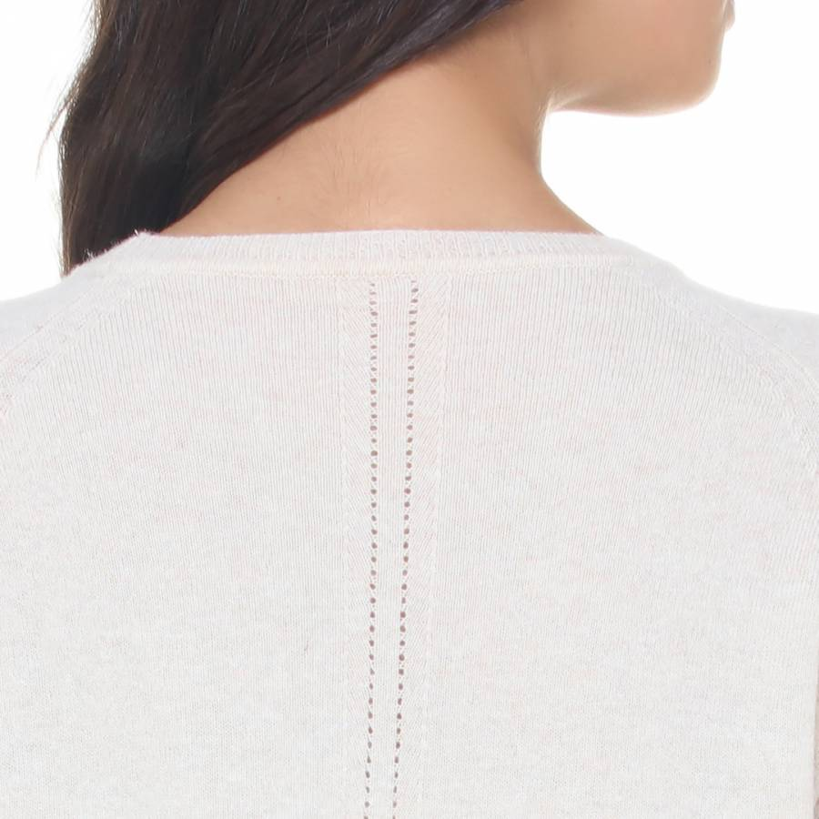 dc736264e8e8f3 Zoom · Love Cashmere Dove Cashmere Blend Long Sleeve Dress